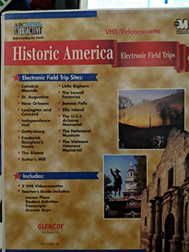 9780028216744: Historic America Electronic Field Trips, VHS