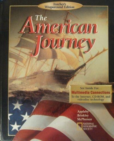 The American Journey Teacher's Wraparound Edition (0028216865) by Appleby; Brinkley; McPherson