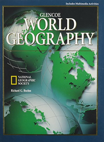 9780028217376: Glencoe World Geography A Physical and Cultural Approach