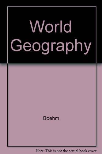 9780028217383: World Geography