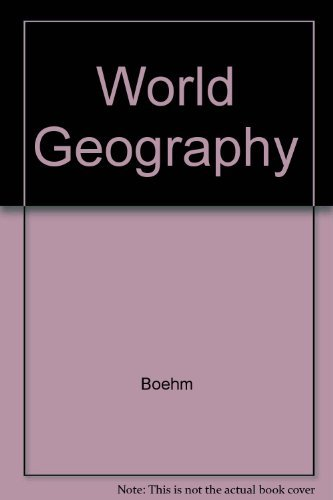 9780028217383: World Geography