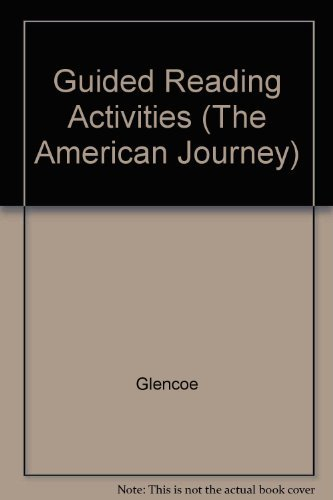 9780028217932: Guided Reading Activities (The American Journey)