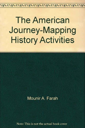 9780028217970: The American Journey-Mapping History Activities