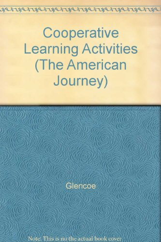 9780028218052: Cooperative Learning Activities (The American Journey)