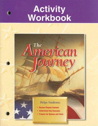 9780028218120: The American Journey Activity Workbook