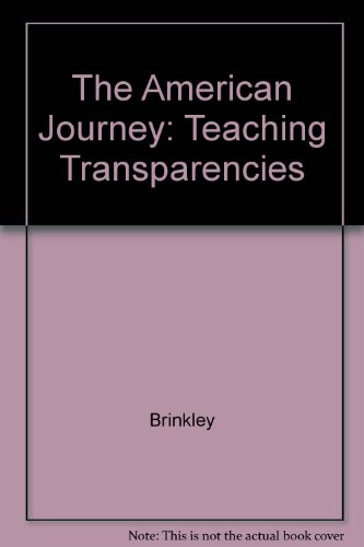 9780028218243: The American Journey: Teaching Transparencies