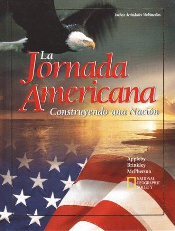 9780028218694: La Jornada Americana: Construyendo una Nacion