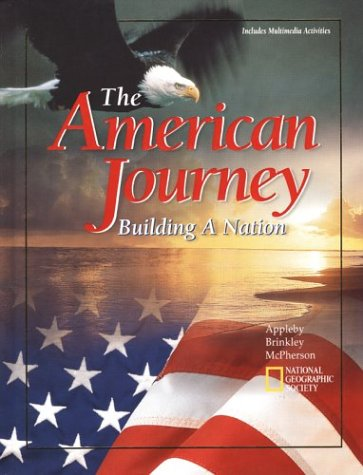 9780028218724: The American Journey: Building A Nation, Student Edition
