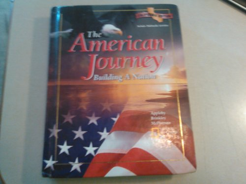9780028218779: The American Journey Building a Nation California Edition Teacher's Wraparound Ed.