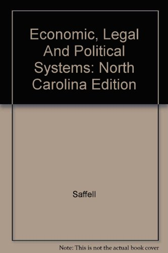 9780028219165: Economic, Legal And Political Systems: North Carolina Edition
