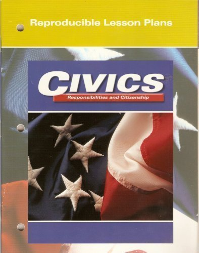 9780028219424: Civics: Responsibilities and Citizenship (Reproducible Lesson Plans)