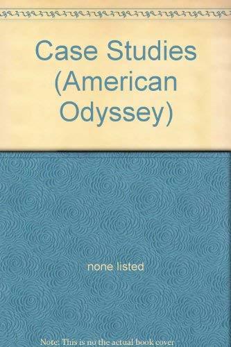 9780028222776: Case Studies (American Odyssey)