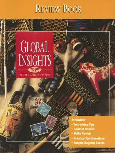 9780028226927: Global Insights: People and Cultures: Review Book