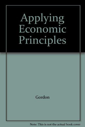 9780028227122: Applying Economic Principles