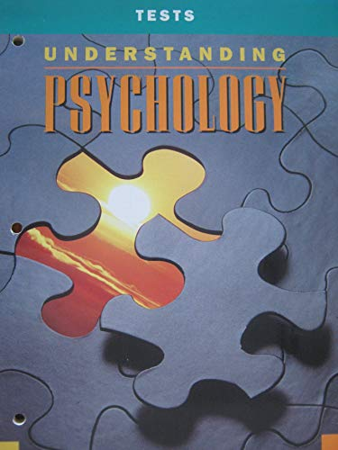 9780028231631: Glencoe Tests for Use with Understanding Psychology