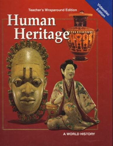 9780028231884: Human Heritage: A World History - Teacher's Wraparound Edition