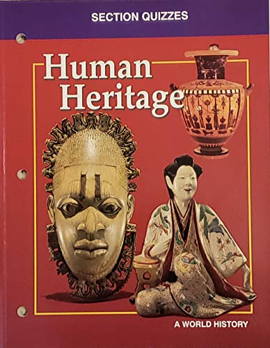 9780028231914: Human Heritage '95 Section Quizzes