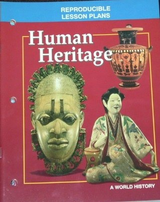 9780028231938: Human Heritage: A World History Reproducible Lesson Plans