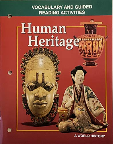 9780028231969: Human Heritage: a World History-Vocabulary and Guided Reading Activities