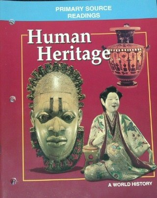 9780028232027: Human Heritage: A World History Primary Source Readings