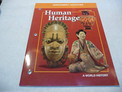 9780028232119: Human Heritage Enrichment Activties