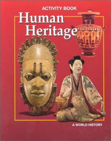 9780028232126: Human Heritage Activity Workbook, Student Edition