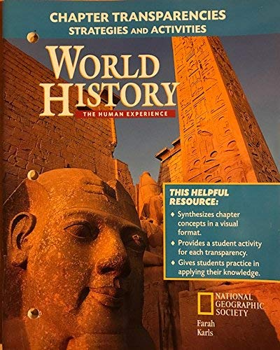 9780028233802: World History: The Human Experience: Chapter Transparencies Strategies and Activities