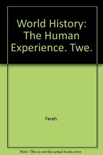 9780028233871: World History: The Human Experience, Teacher Wraparound Edition