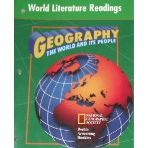 9780028237183: Geography: The World and Its People: World Literature Readings