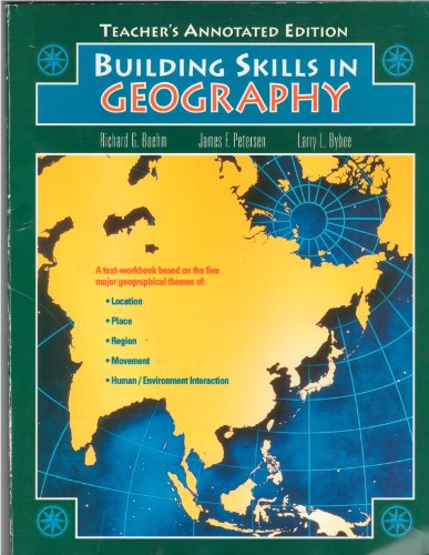 9780028237251: Building Skills in Geography, Teacher's Annotated Edition