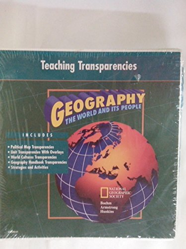 9780028237268: Teaching Transparencies GEOGRAPHY The World and Its People