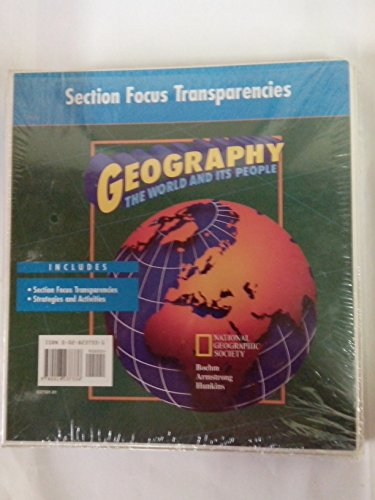 9780028237336: Section Focus Transparencies GEOGRAPHY The World and Its People