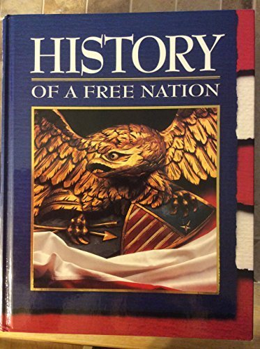 9780028237763: History of a Free Nation