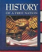 9780028237770: History of a Free Nation: Teacher's Wraparound Edition