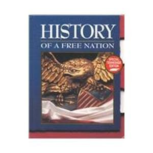 9780028237787: History of a Free Nation: Special Tennessee Edition