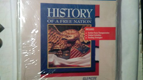 9780028238173: Section Focus Transparencies (History of a Free Nation)