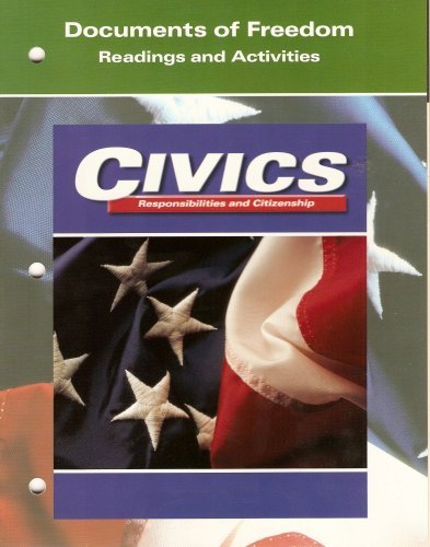9780028238487: Civics: Responsibilities and Citizenship (Documents of Freedom: Readings and Activities)