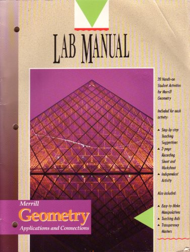 Merrill Geometry, Applications and Connections, Lab Manual: n/a