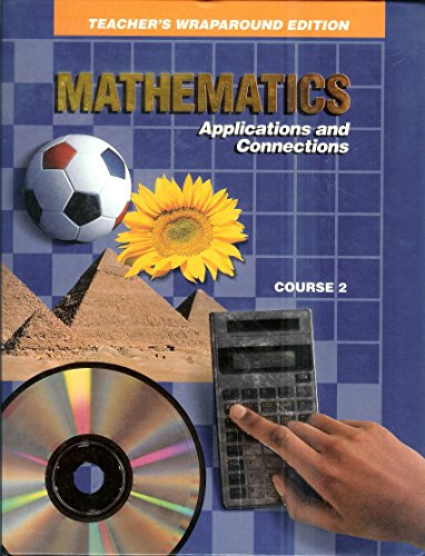 9780028240435: Glencoe, Mathematics Applications And Connections Course 2 7th Grade Teacher Edition, 1993 ISBN: 002824043X