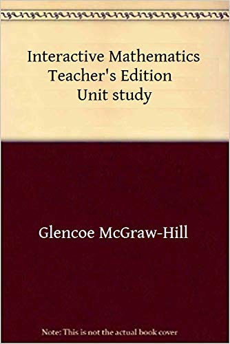 9780028241630: Run for Cover, Surface Area and Volume: Classroom Instructional Resources - Unit 17 (Teacher's Edition, Glencoe Interactive Mathematics)