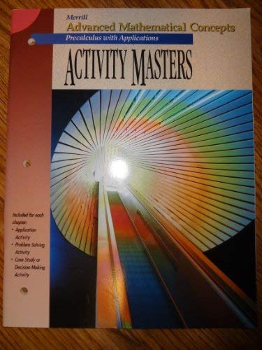 9780028242798: Activity Masters: Precalculus with Applications (Advanced Mathematical Concepts)