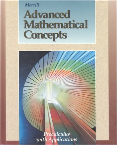 9780028242866: Advanced Mathematical Concepts