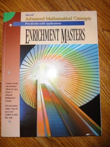 9780028242934: Enrichment Masters (Merrill Advanced Mathematical Concepts: Precalculus)