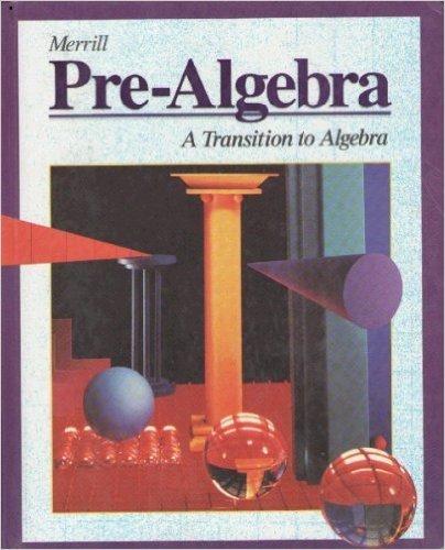 9780028243610: Merrill Pre-Algebra: A Transition to Algebra