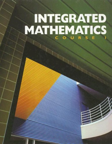 9780028245669: Integrated Mathematics: Course 1