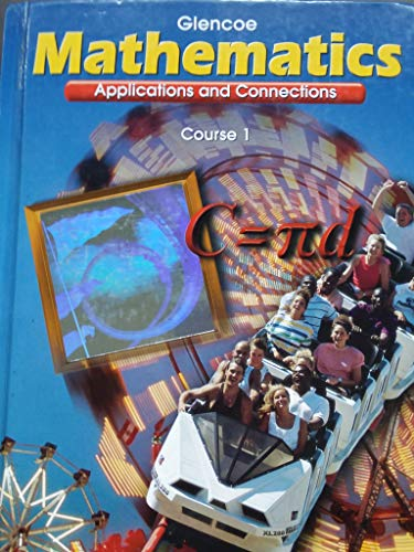 9780028245850: Transition Booklet Mathematics Course 1 (Mathmatics Applications and Connections, Course 1)