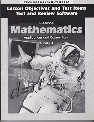 9780028245911: Lesson Plans Mathematics: Applications and Connections (Course 3)