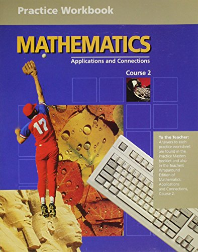 9780028245935: Mathematics: Applications and Connections Course 2 (Practice Workbook