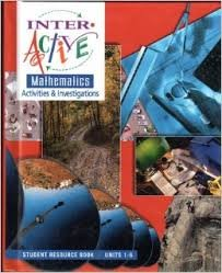 9780028247205: Interactive Mathematics: Activities and Investigations, Course 1, Units 1-6- Student Resource Book