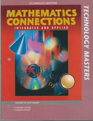 9780028248066: Mathematics Connections Integrated and Applied (Technology Masters)